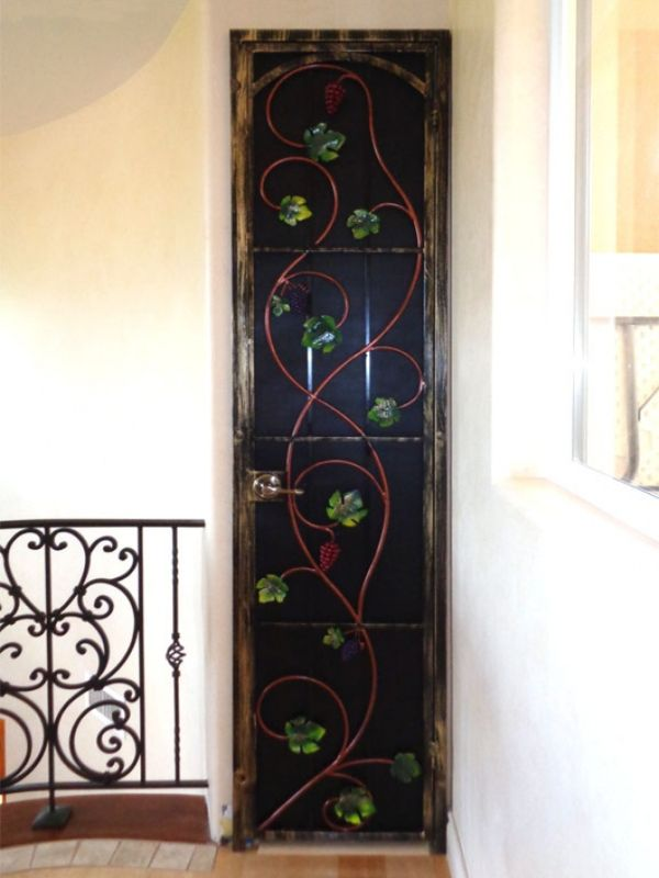 wine cellar doors WCD003 Wrought Iron Design In Las Vegas