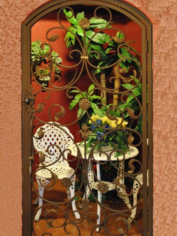 wine cellar doors WCD009