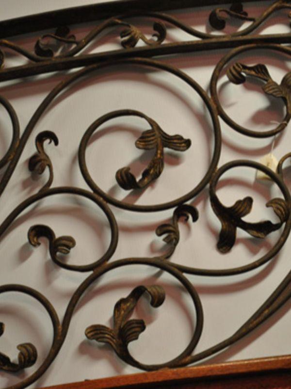 Nature inspired-Interior Railing-Item IR0084 Wrought Iron Design In Las Vegas