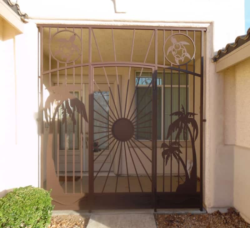 Aloha - Item EW0442 Wrought Iron Design In Las Vegas