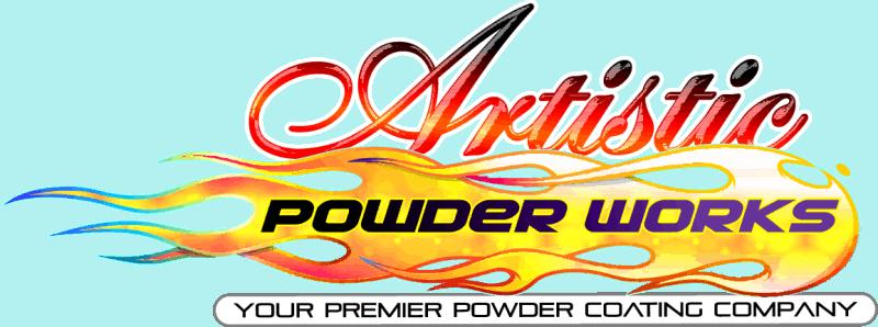 Artistic Powder Works Logo Wrought Iron Design In Las Vegas