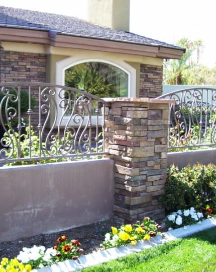 Block Iron Fences LV Wrought Iron Design In Las Vegas