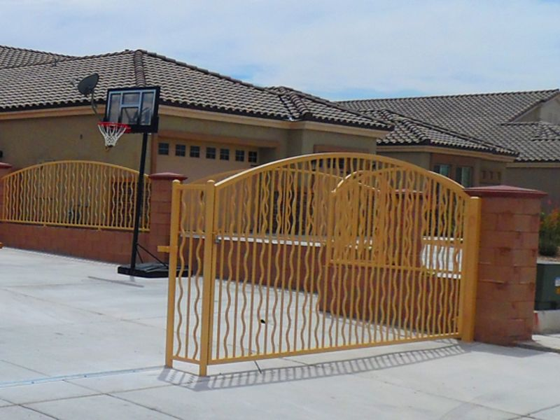 Modern Block and Iron BI0107y Wrought Iron Design In Las Vegas