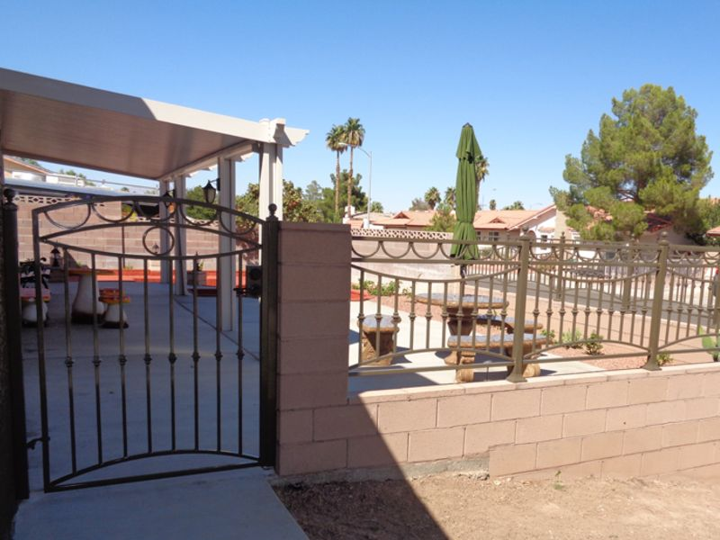 Modern Block and Iron BI0125 Wrought Iron Design In Las Vegas