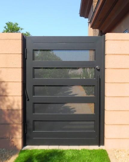 Custom Backyard Gates LV Wrought Iron Design In Las Vegas