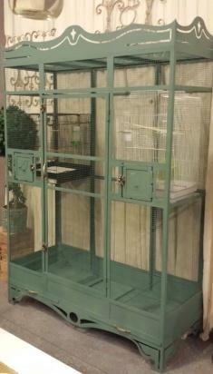 Custom Bird Cage Wrought Iron Design In Las Vegas