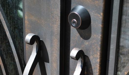 Custom Door Hardware LV Wrought Iron Design In Las Vegas