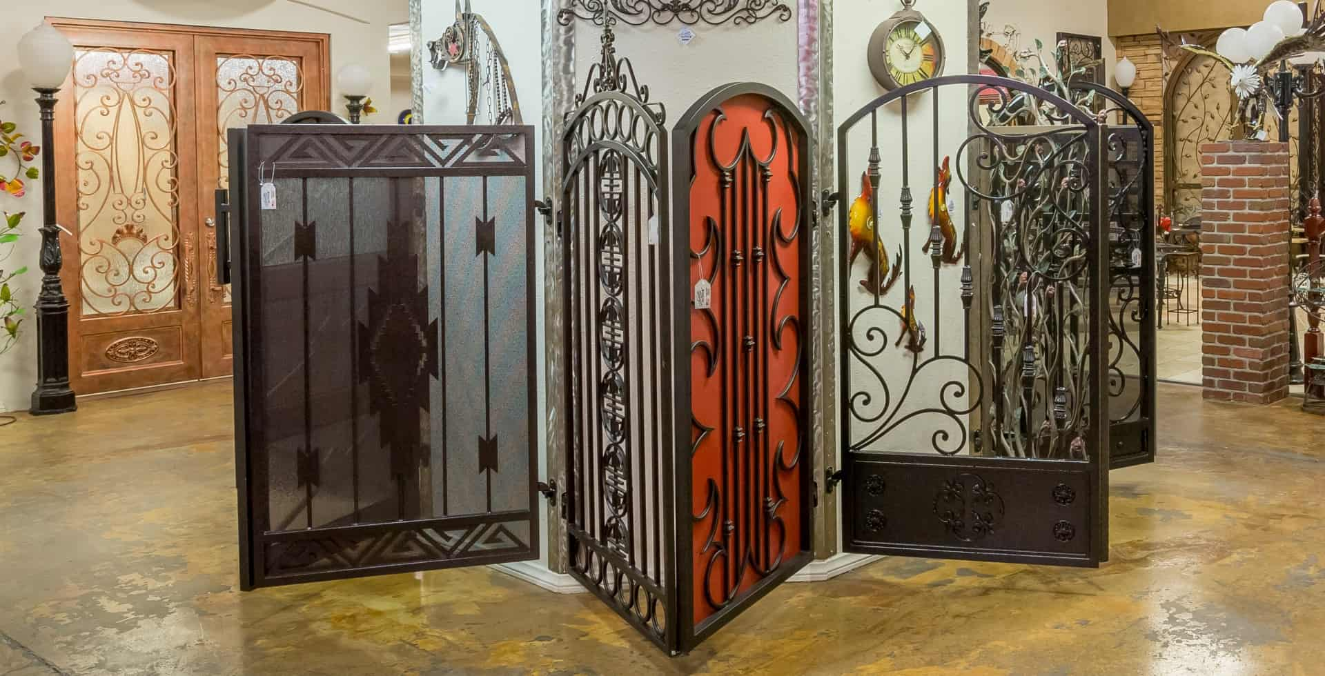 Custom Iron Gate Doors LV Wrought Iron Design In Las Vegas