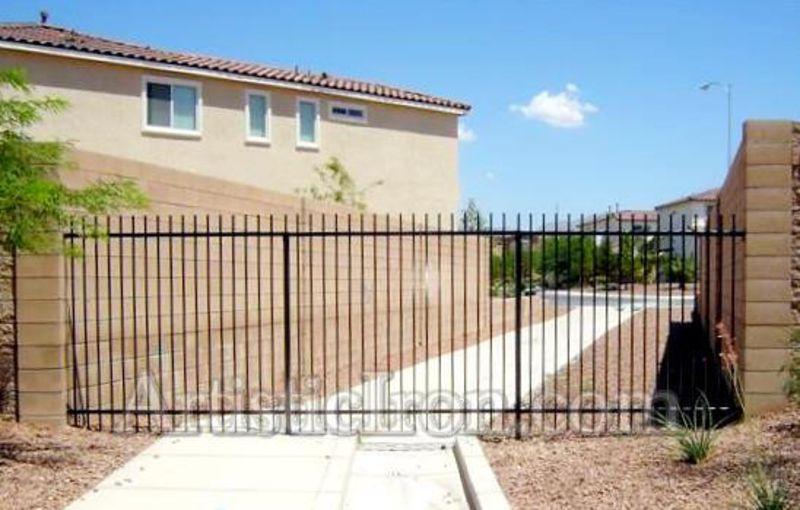 Econo-line Fencing F0004 Wrought Iron Design In Las Vegas