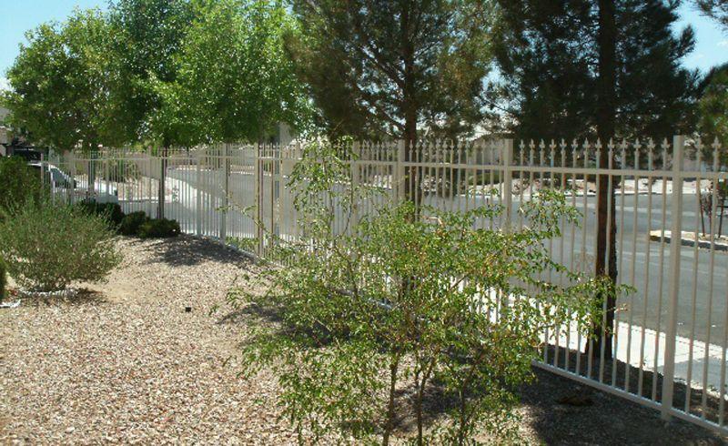 Econo-line Fencing F0064 Wrought Iron Design In Las Vegas