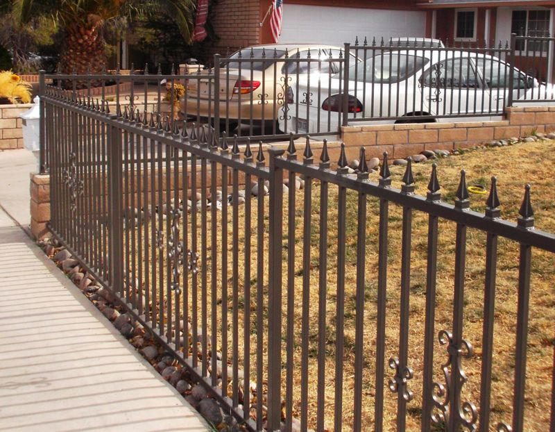 Econo-line Fencing F0067 Wrought Iron Design In Las Vegas