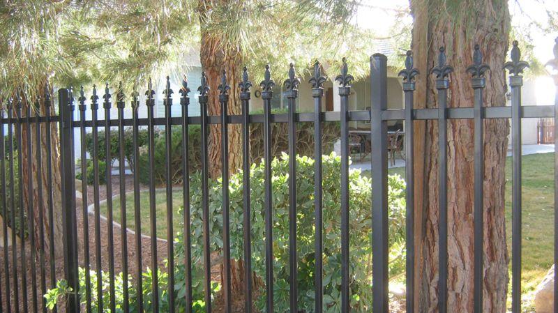 Econo-line Fencing F0068 Wrought Iron Design In Las Vegas