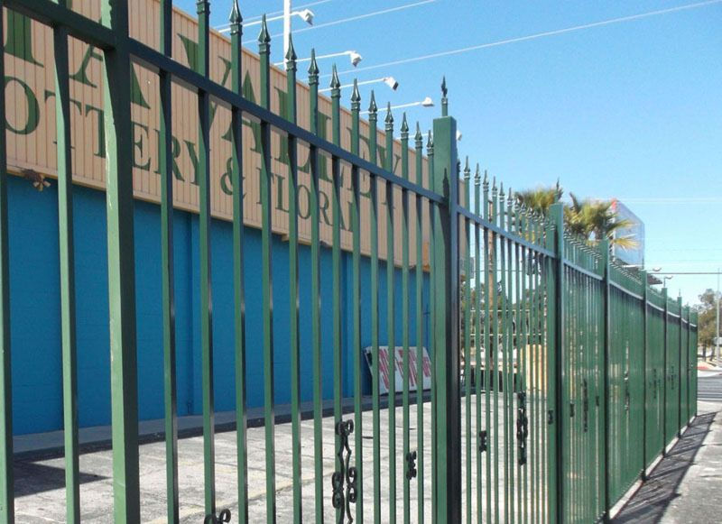 Econo-line Fencing F0101 Wrought Iron Design In Las Vegas