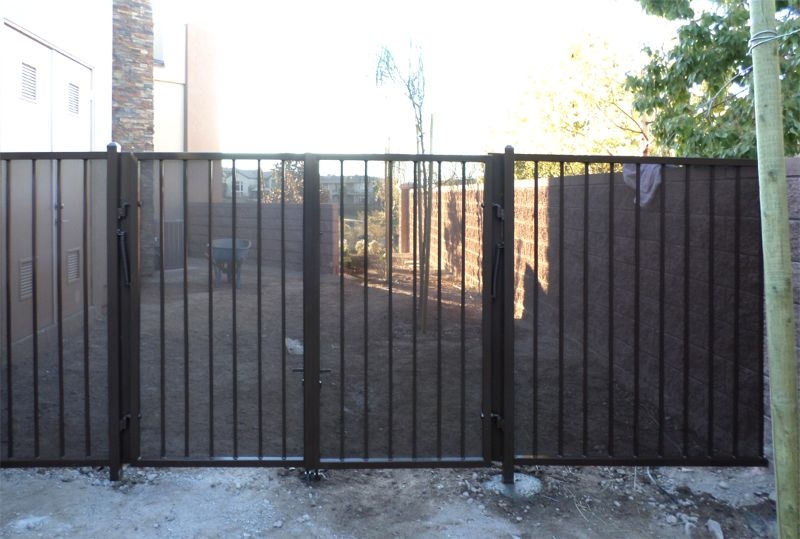 Econo-line Fencing F0114A Wrought Iron Design In Las Vegas