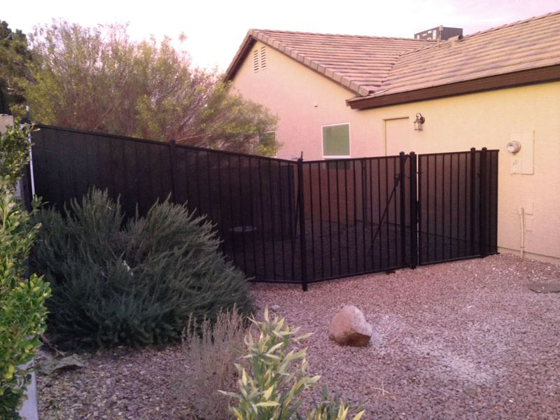 Econo-line Fencing F0148B Wrought Iron Design In Las Vegas