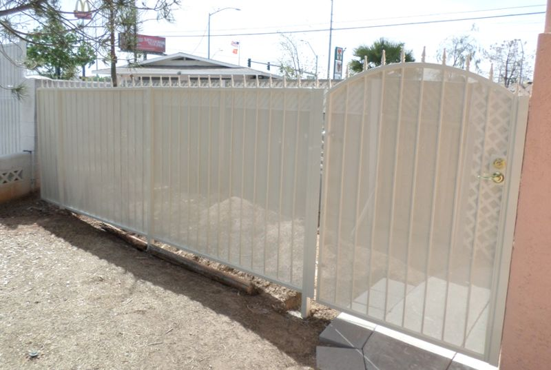 Econo-line Fencing F0120 Wrought Iron Design In Las Vegas