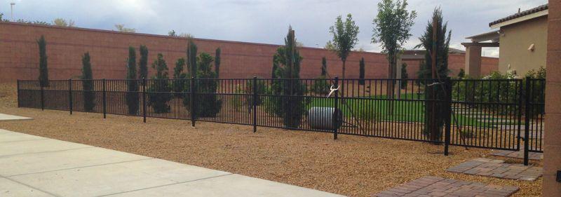 Econo-line Fencing F0125 Wrought Iron Design In Las Vegas
