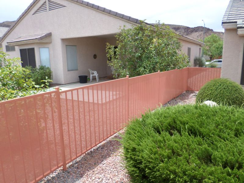 Econo-line Fencing F0133B Wrought Iron Design In Las Vegas