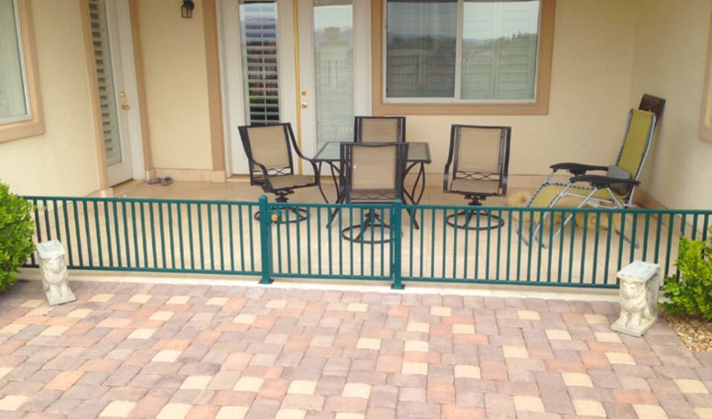Econo-line Fencing F0135 Wrought Iron Design In Las Vegas