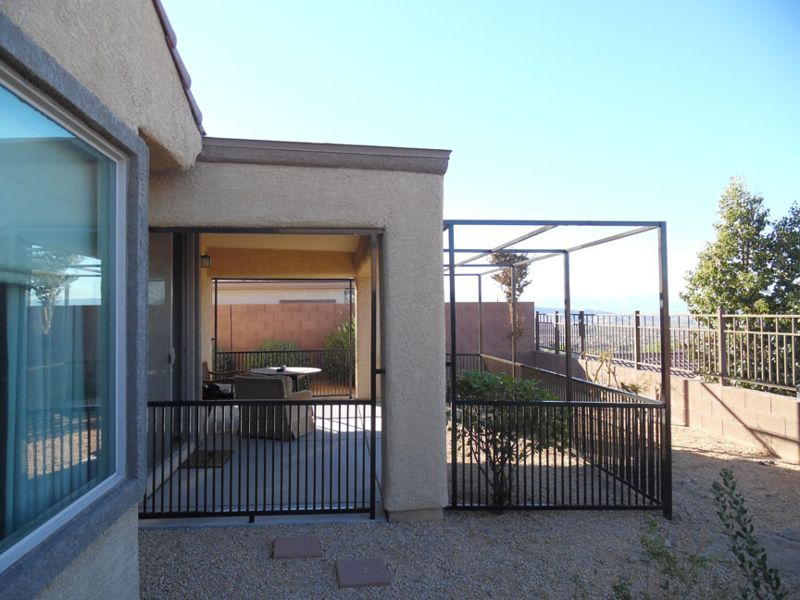 Econo-line Fencing F0137 Wrought Iron Design In Las Vegas