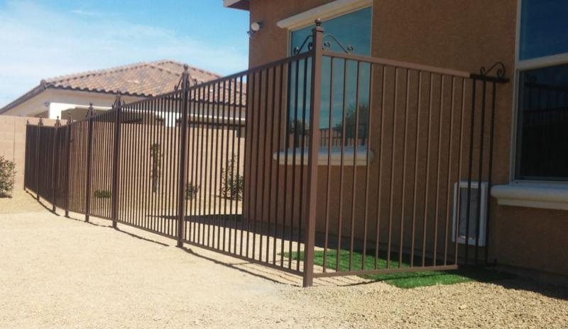 Econo-line Fencing F0140 Wrought Iron Design In Las Vegas