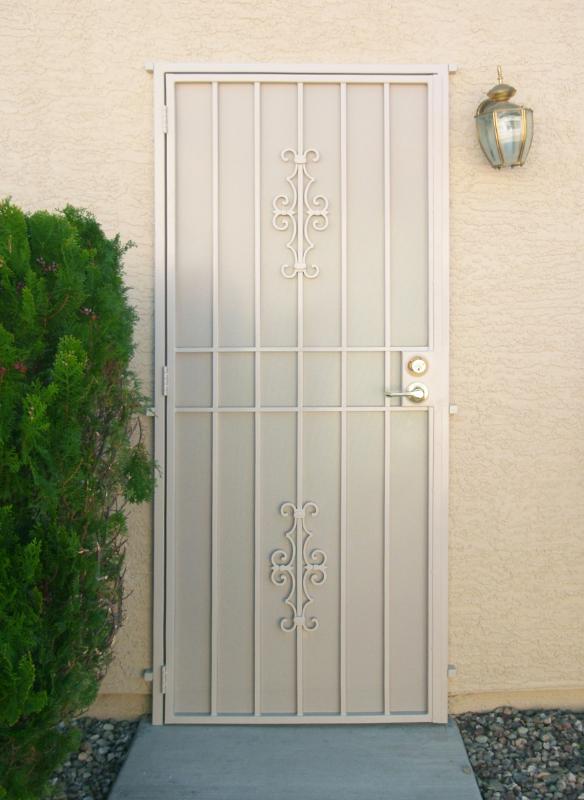 Econo - Item SD0001-White Wrought Iron Design In Las Vegas