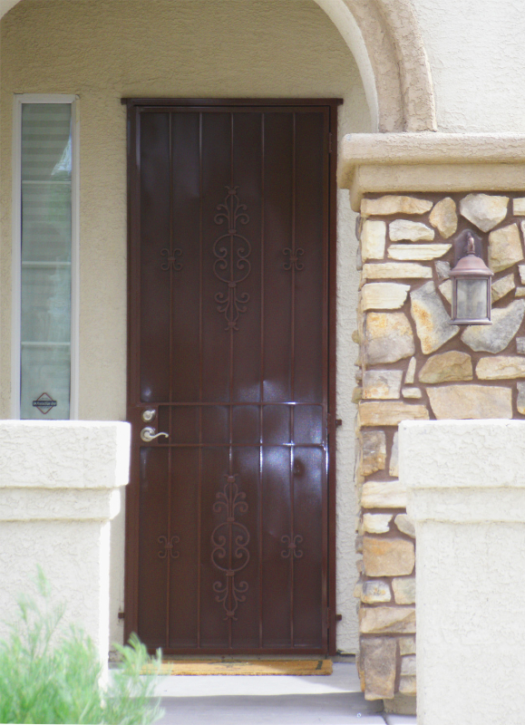 Econo-Line - Item SD0069-Maroon Wrought Iron Design In Las Vegas
