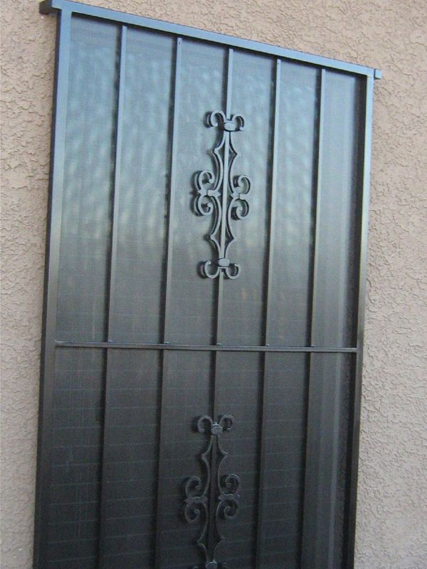 Econo-Line Window Guard WG0001 Wrought Iron Design In Las Vegas