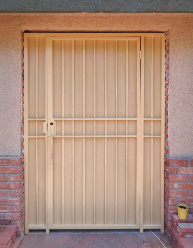 EconoLine Entryway Door - Item EW0410 Wrought Iron Design In Las Vegas
