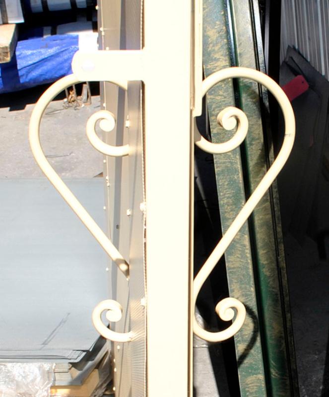EconoLine Entryway Door - Item EW0410_Door-Handle Wrought Iron Design In Las Vegas