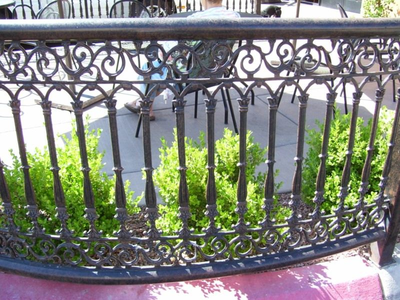 Scrollwork Fencing F0053 Wrought Iron Design In Las Vegas