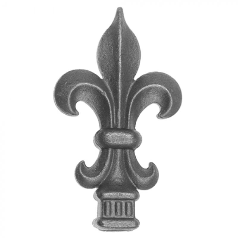 Fleur-De-Lis Finial - Item FDL0001 Wrought Iron Design In Las Vegas