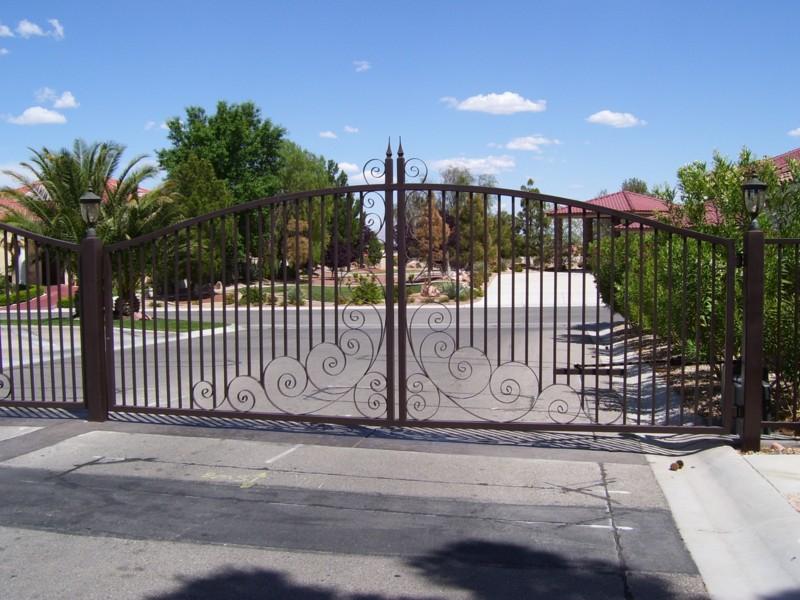 Gate DG0099 Wrought Iron Design In Las Vegas