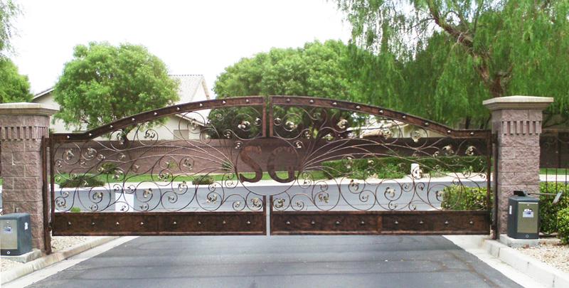 Gate DG0127 Wrought Iron Design In Las Vegas