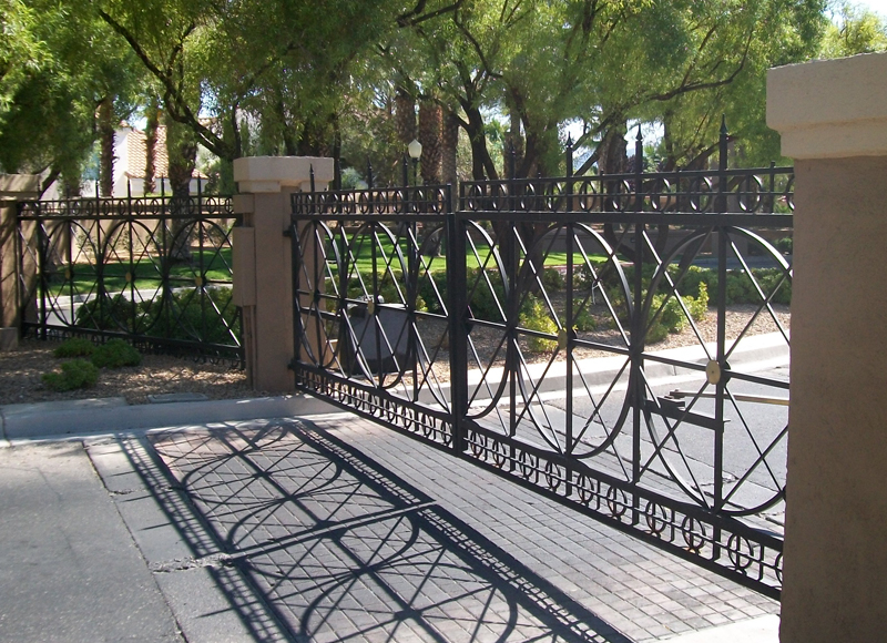 Gate Item DG0184 Wrought Iron Design In Las Vegas