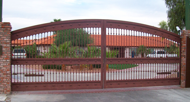 Gate DG0186 Wrought Iron Design In Las Vegas