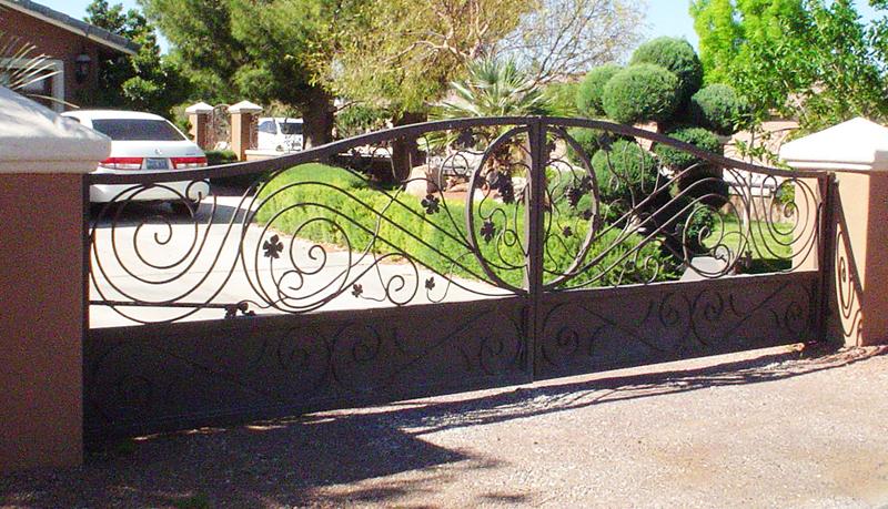 Gate DG0221 Wrought Iron Design In Las Vegas