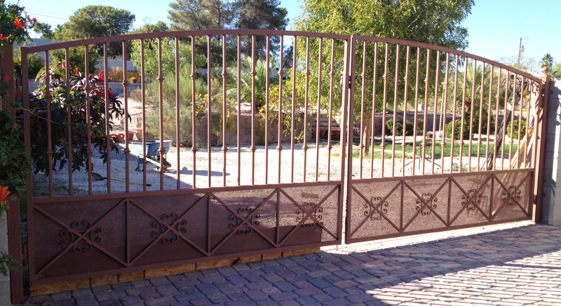 Gate DG0221 Wrought Iron Design In Las Vegas