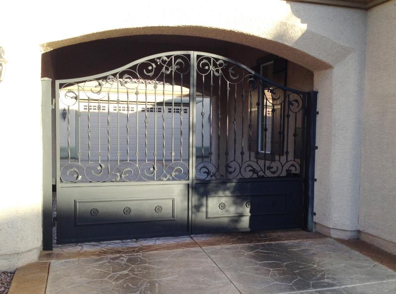 Gate DG0278 Wrought Iron Design In Las Vegas