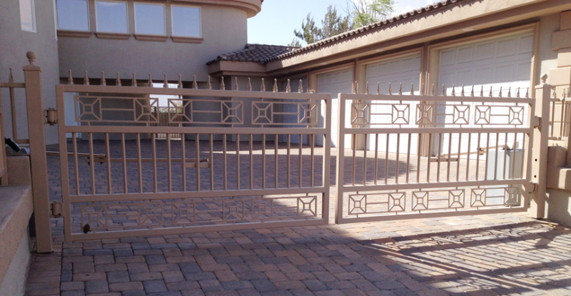 Gate DG0343 Wrought Iron Design In Las Vegas