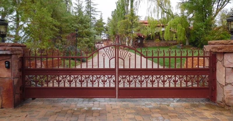 Gate DG0358 Wrought Iron Design In Las Vegas