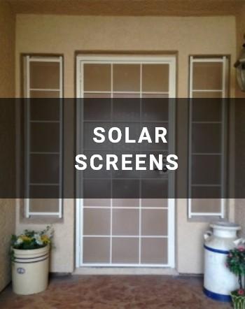 solar-screens Wrought Iron Design In Las Vegas