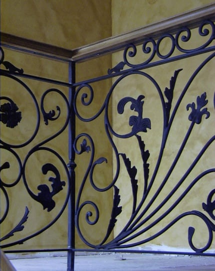 Iron Interior Railing LV Wrought Iron Design In Las Vegas