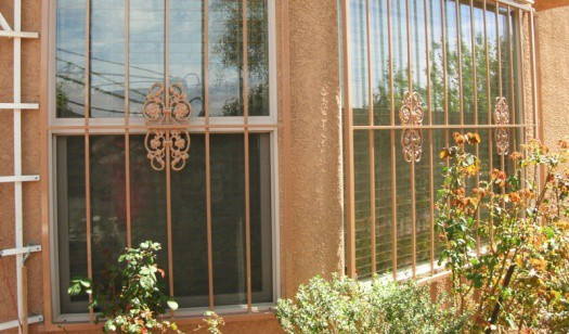 Iron Window Covers LV Wrought Iron Design In Las Vegas