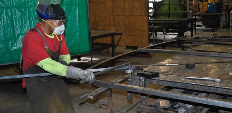 Las Vegas Ironwork Hand Bend Wrought Iron Design In Las Vegas