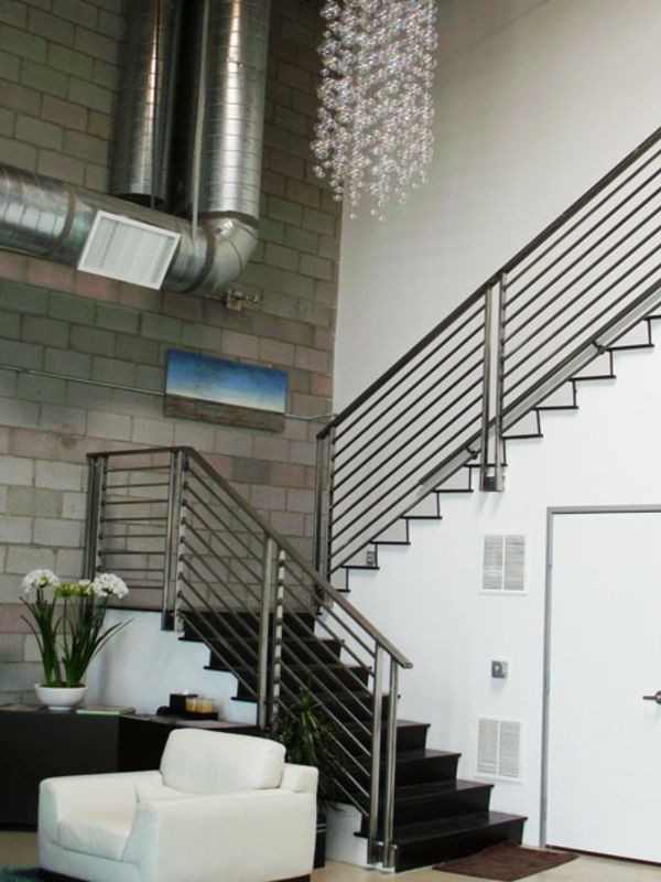 Modern-Interior Railing-Item IR0138 Wrought Iron Design In Las Vegas