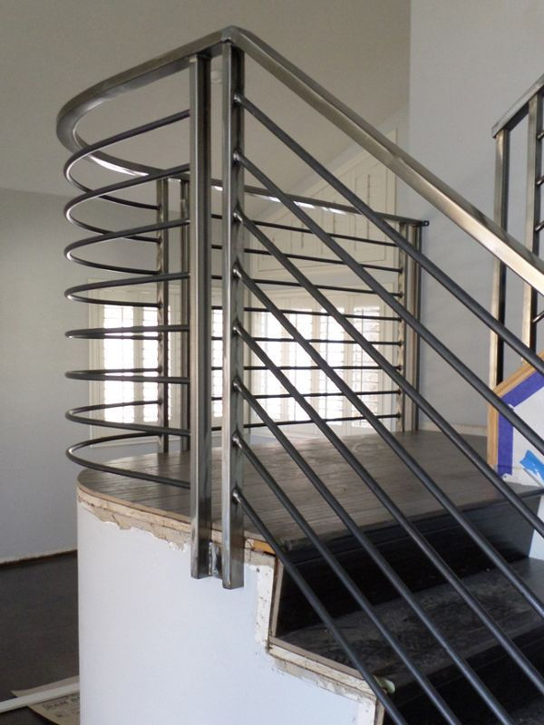 Modern-Interior Railing-Item IR0138A Wrought Iron Design In Las Vegas