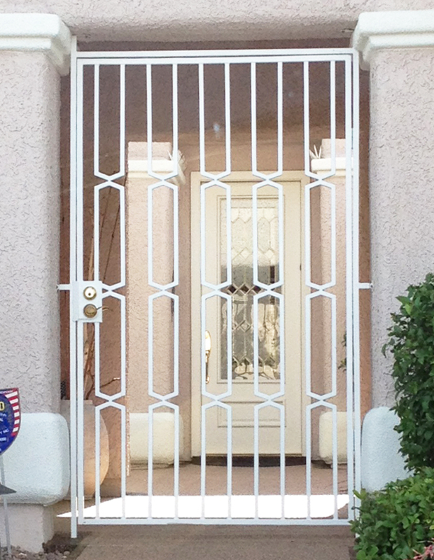 Modern Custom Archive Entryway Door - Item EW0268 Wrought Iron Design In Las Vegas