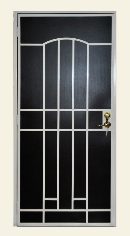 Modern Custom Archive Security Door - Item SD0149 Wrought Iron Design In Las Vegas