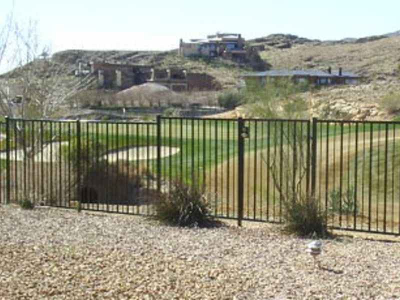 Modern Fencing F00028A Wrought Iron Design In Las Vegas
